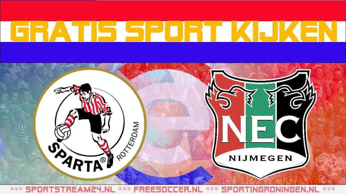 Livestream Sparta - NEC