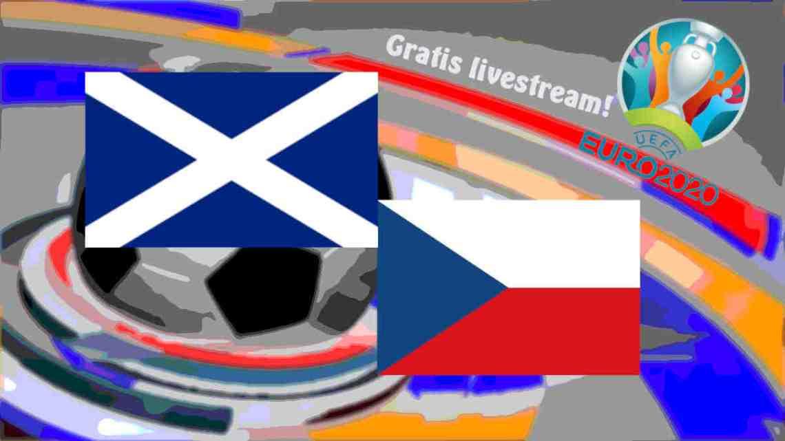 Livestream Schotland - Tsjechië