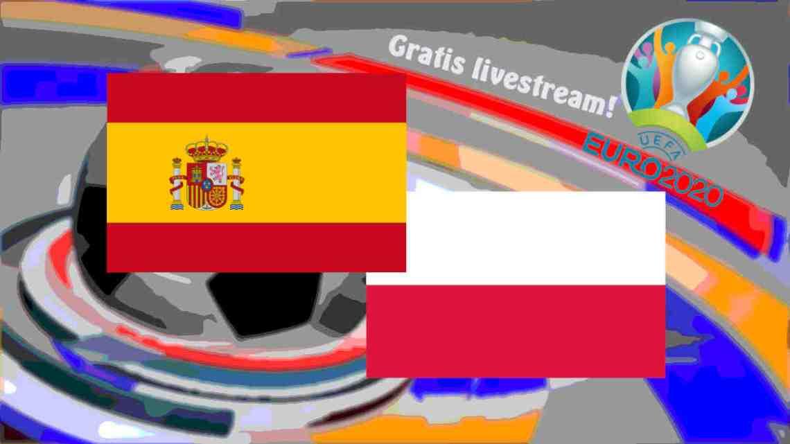 Livestream Spanje - Polen