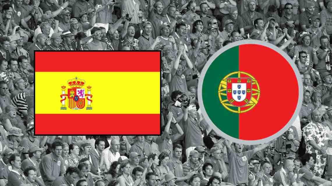 Halve Finale EK -21: Jong Spanje - Jong Portugal