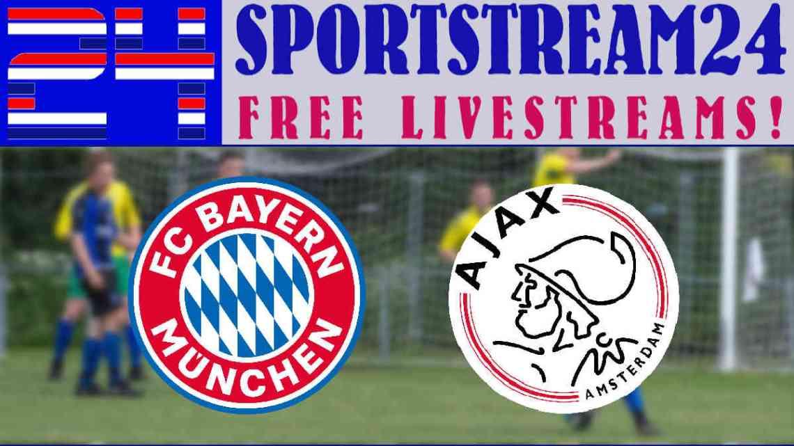 Livestream Oefenwedstrijd Bayern München - Ajax