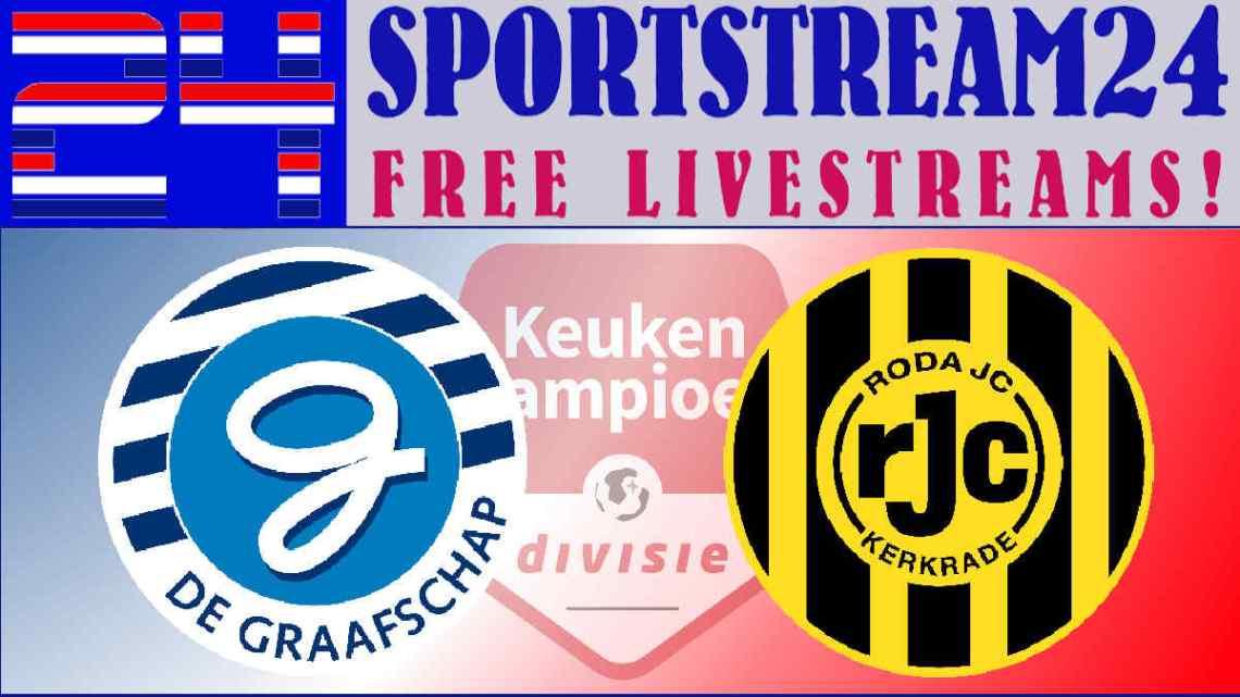 Livestream De Graafschap - Roda JC