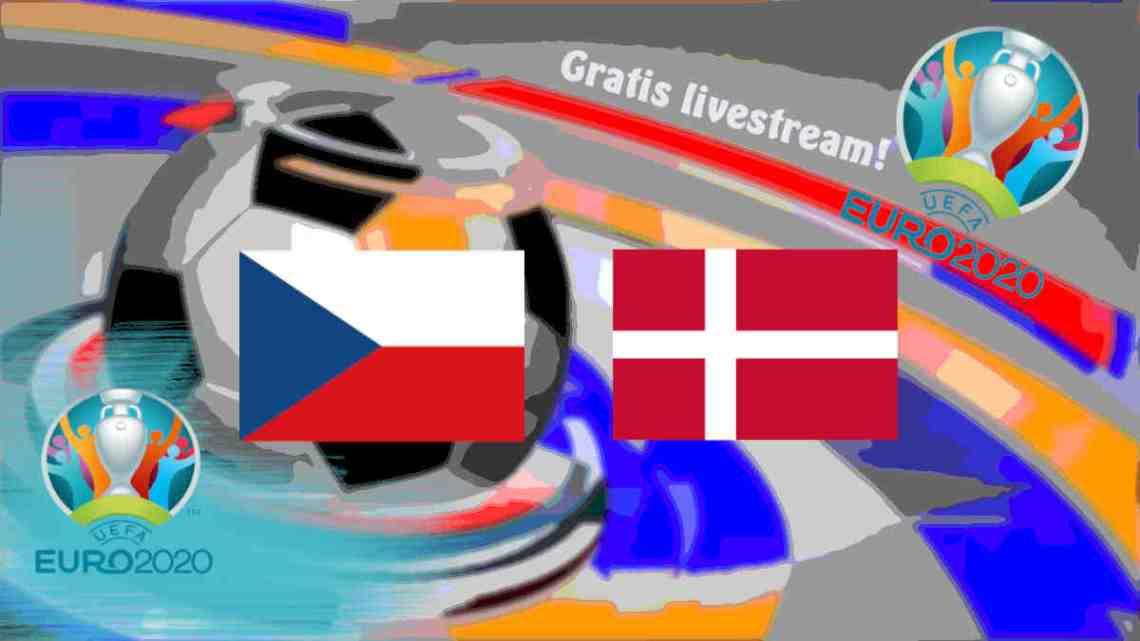 Livestream Tsjechië - Denemarken