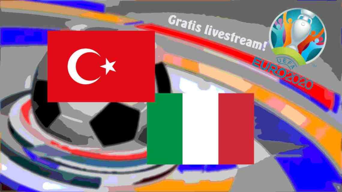 UEFA EURO2020: Turkije - Italië (Gratis stream)