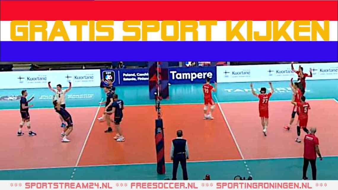 Livestream EK Volleybal Nederland - Portugal