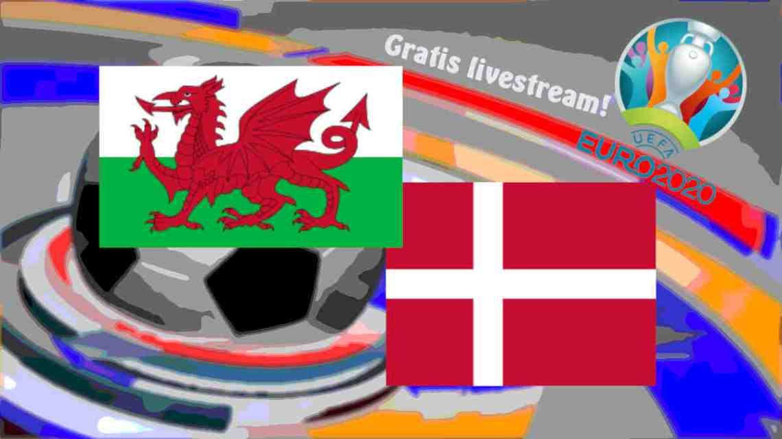Livestream EURO 2020 Wales - Denemarken