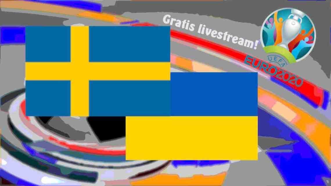 Livestream Zweden - Oekraïne
