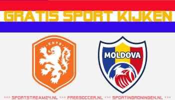 Livestream Jong Oranje - Jong Moldavië