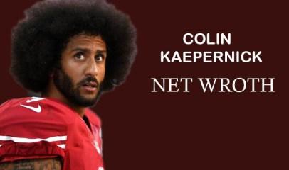 Colin Kaepernick Net Worth