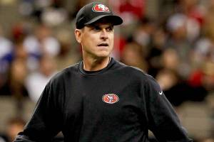 Harbaugh has reportedly lost the San Francisco locker room. (Courtesy of Awful Announcing)