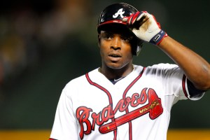 Upton probably won't be wearing this uniform for much longer. (Courtesy of Chat Sports)