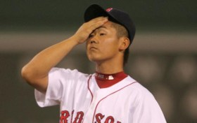 Daisuke Matsuzaka (Dice K) is one of the slowest pitchers in the game. (Courtesy of Surviving Grady