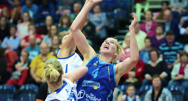 Canberra's Abby Bishop. Picture: John Preller