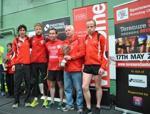 1st Senior Team - Sportsworld Running Club (Woohoo!)