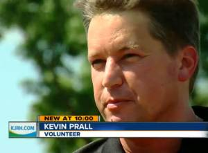 Photo of Kevin Prall from KJRH news story