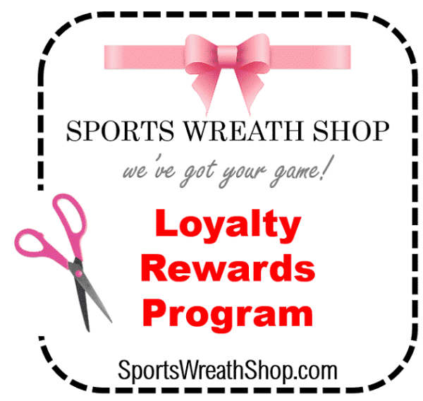 Sports Wreath Shop Loyalty Rewards Program 600x600