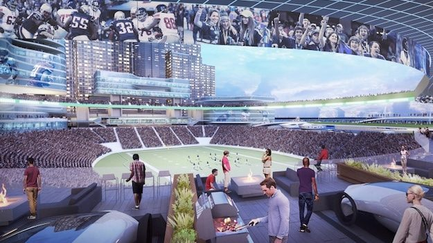 The top 10 features of future stadiums Metlife