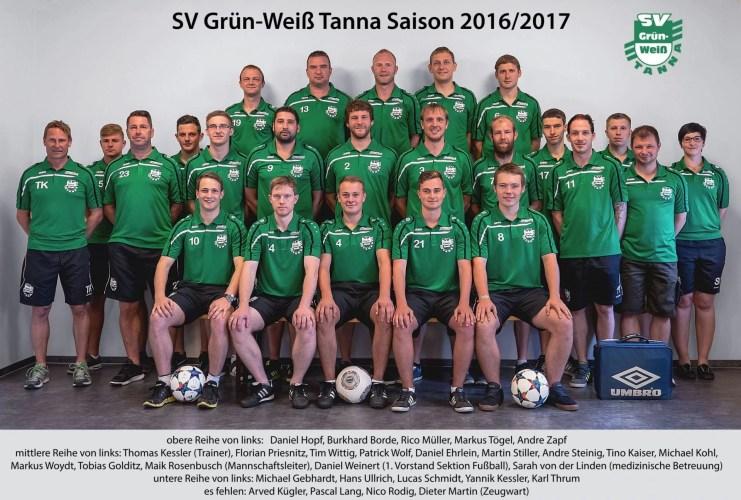 FSV Orlatal Langenorla - SG SV Grün-Weiß Tanna 3:0 (0:0)