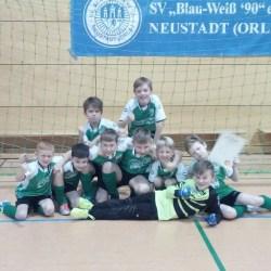 Hallentunier der F-Junioren in Neustadt