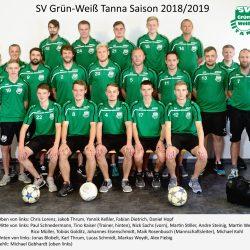 SV Blau-Weiß Neustadt - SG SV Grün-Weiß Tanna 0:2 (0:0)
