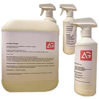 AG Bateco Reiniger (reinigt eenvoudig de Taraflex Bateco Afdekvloer)