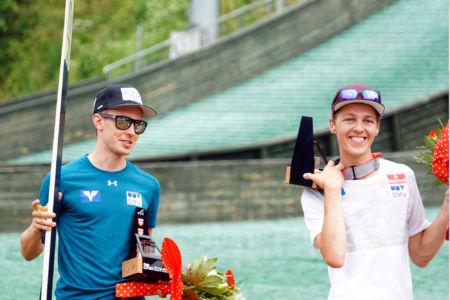 FIS Cup Szczyrk 2019 - Maximilian Steiner i Maximilian Lienher