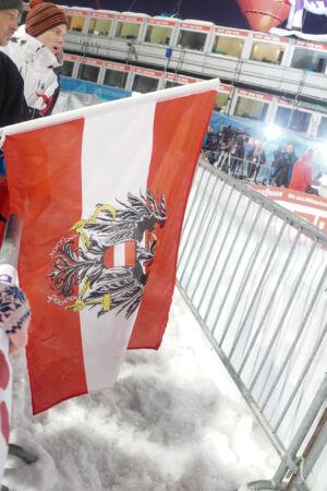Flag - WC Bischofshofen 2018
