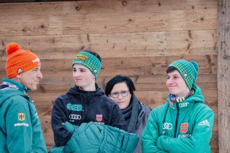Moritz Baer, Felix Hoffmann - WC Garmisch-Partenkirchen 2018