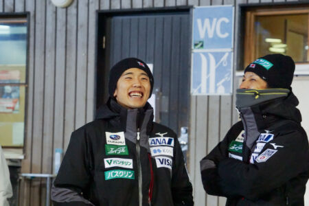 Naoki Nakamura,  Noriaki Kasai - WC Ruka 2018