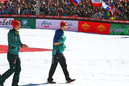 PŚ Planica 2019 - Martin Hamann i Stephan Leyhe