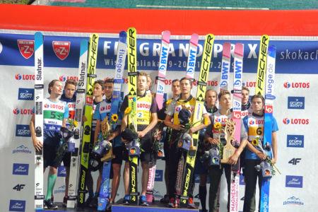 SGP Wisła 2019 Team - Podium: 1. Poland, 2. Slovenia, 3. Norway