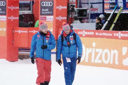 Alexander Stöckl, Andreas Vilberg - WC Willingen 2018