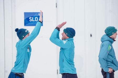 Team Slovenia - WC Garmisch-Partenkirchen 2018