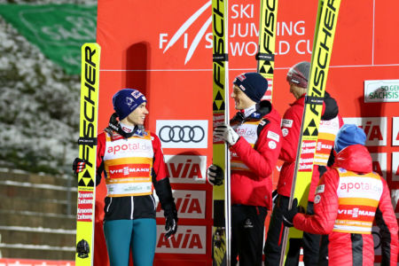 WC Klingenthal 2019 - Team Austria (Philipp Aschenwald, Stefan Kraft)