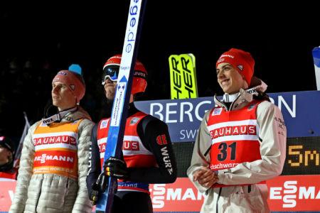 WC Titisee-Neustadt 2020 - Karl Geiger, Stephan Leyhe, Constantin Schmid