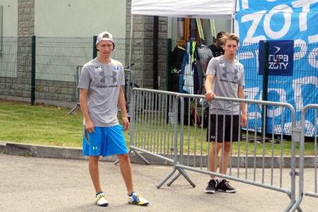 FIS CUP Szczyrk 2016 - Stefan Huber, Thomas Diethart