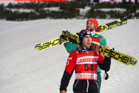 WC Oberstdorf 2019 - Stefan Kraft, Markus Eisenbichler