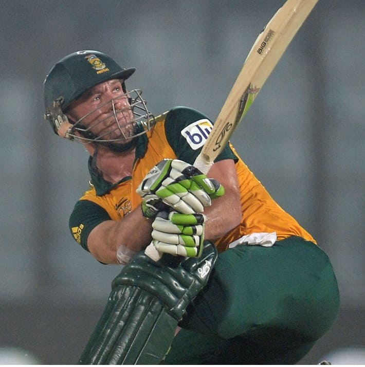 AB de Villiers becomes the fastest South African to score a T20I fifty