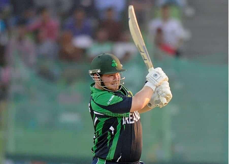 Paul Stirling against Zimbabwe - ICC World T20 2014
