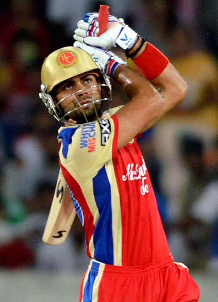 RCB-Sunrisers IPL match in Hyderabad