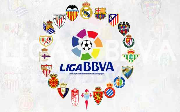 Current teams in LigaBBVA