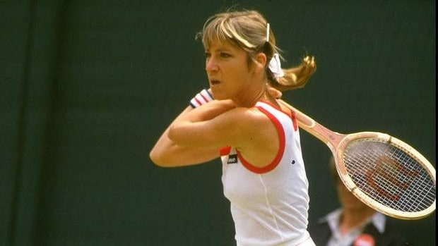 4. Chris Evert Lloyd