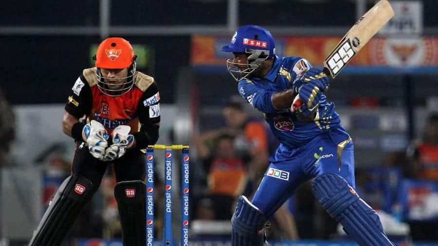 Ambaty Rayudu helped MI to win an easy victory