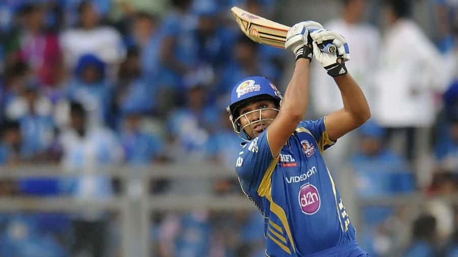 Captain Rohit Sharma played important part in MI win