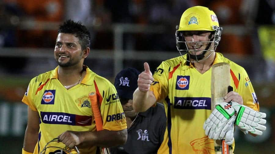 Raina and Hussey returns after winning the first eliminator
