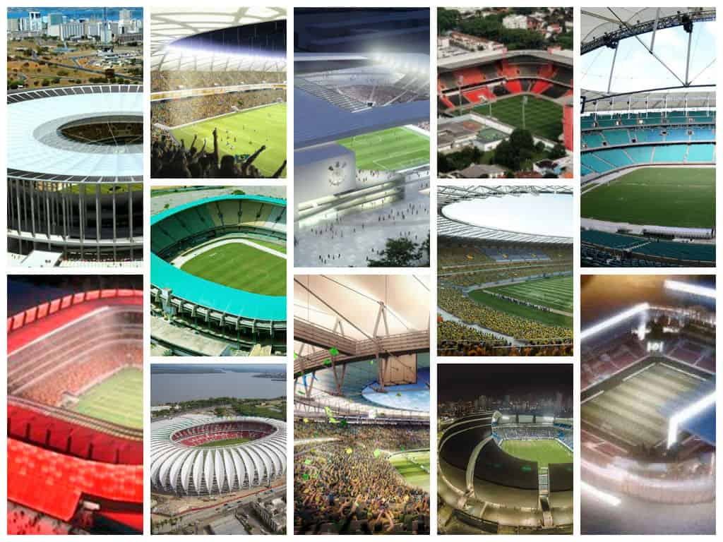 Know All the Details About FIFA World Cup 2014 Stadiums