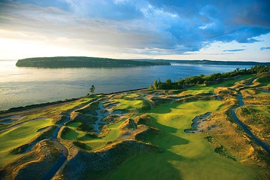 Chambers Bay Course Layout