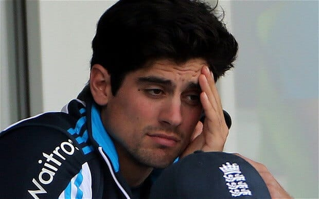 Alastair Cook Not Certain about World Cup 2015