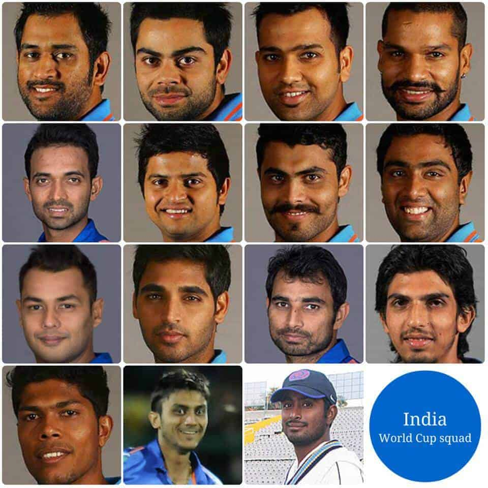 No Yuvraj but Axar and Binny included in India's World Cup squad