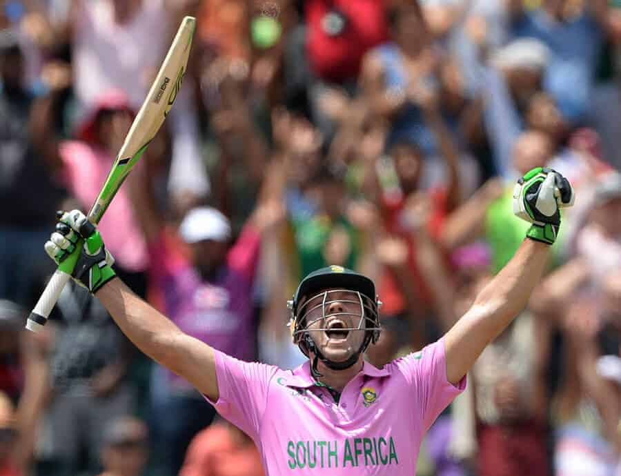 Stats highlights from AB de Villiers unbelievable world record - A 31 ball ODI ton